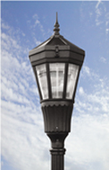 Ohmlighting LED Posttop streetlight